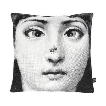 Fornasetti Ape - Pillows - DESIGN+ART Fornasetti online on YOOX - 58042696NE