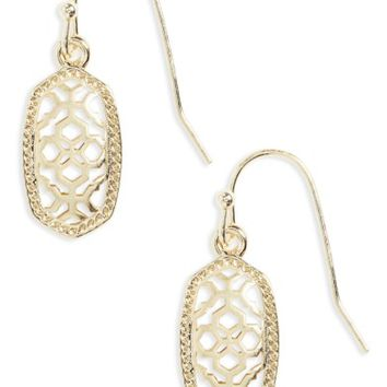 Kendra Scott Lee Small Filigree Drop Earring. | Nordstrom