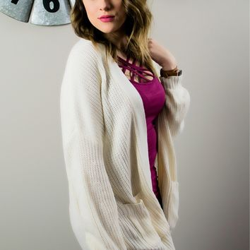 Soft and Sweet Ivory Cardigan