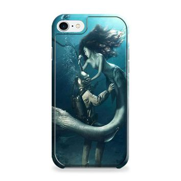 DIVER AND THE MERMAID iPhone 6 | iPhone 6S Case