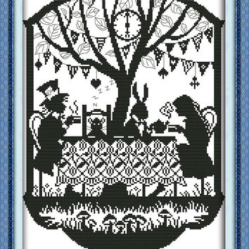 15 patterns available Fairy tales Alice Wizard of Oz cross stitch kit Cinderella Dragon 18ct 14ct 11ct embroidery needlework