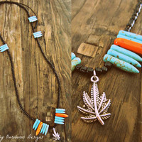 Simple Little Things Festival 420 Necklace - W.I.L. by Ouroboros Designs