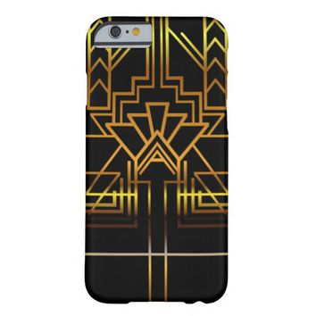 Gold Art Deco Phone Case Barely There iPhone 6 Case