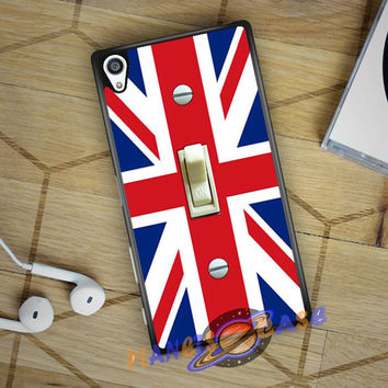 British Flag switch plate Sony Xperia Z5 case Planetscase.com