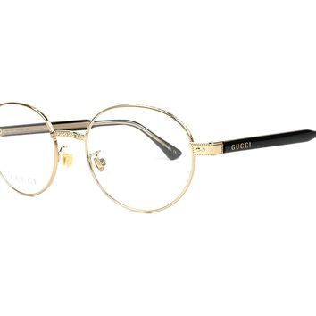 Gucci GG0189O Round Metal Eyeglasses 50 mm