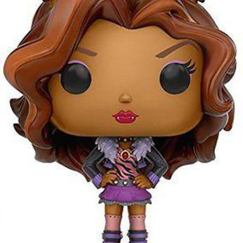 Funko Pop Monster High Clawdeen Vinyl Figure