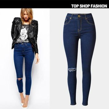 ICIK0OQ Ripped Holes Jeans Slim Baggy Jeans Pants Plus Size Skinny Pants [8864418567]