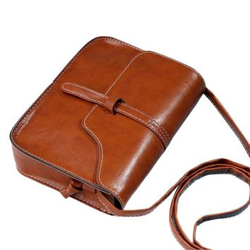 Leather Cross Body Shoulder Bags Vintage #YW