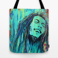 Feelin The Rain Tote Bag by Sophia Buddenhagen