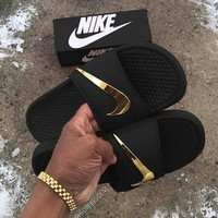 NIKE Men and Women Beach Sports and leisure slippers