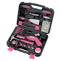 Apollo Tools 138-Pc. Household Tool Kit - Pink