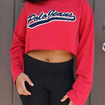 Polo Jeans Crop Sweater