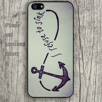 Infinite Anchor colorful iphone 6 6 plus iPhone 5 5S 5C case Samsung S3,S4,S5 case Ipod Silicone plastic Phone cover Waterproof