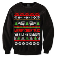 Supernatural Christmas Sweater