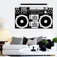 Wall Stickers Vinyl Decal Sound Recorder Music Night Club DJ Party Unique Gift (ig1821)