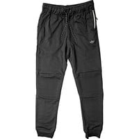 Adidas Sport Luxe Moto Jogger Pants (Mens) - Black