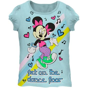 Minnie Mouse - Dance With Minnie Juvy Girls T-Shirt