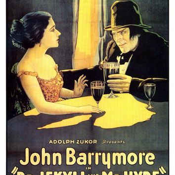 Dr. Jekyll and Mr. Hyde 27x40 Movie Poster (1920)