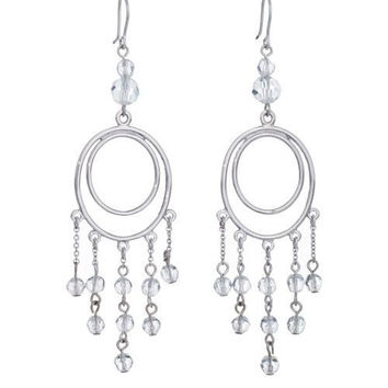Sheer Indulgance by Annaleece Swarovski Crystal Earrings
