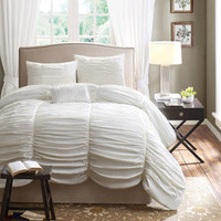 Walmart: Home Essence Pacifica 4-Piece Bedding Comforter Set