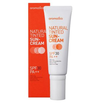NATURAL TINTED SUN-CREAM