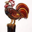 Rooster, Wood Sculpture, Wall decor. Just made for your Kitchen or Den. Great for collectors.