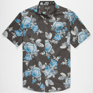 Retrofit Stop Mens Shirt Charcoal  In Sizes