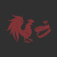 Rooster Teeth Distressed Logo Shirt