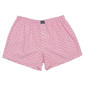 Wahoo Hanover Boxer in Pink by Southern Marsh