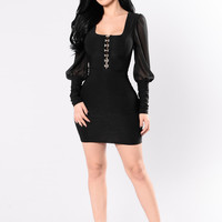 Poetic Justice Dress - Black