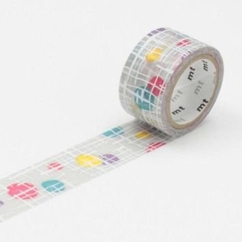 mt fab Washi Tape Single Maru To Sen