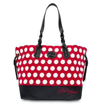 Disney Dooney & Bourke Minnie Mouse Rocks the Dots Tote New with tags