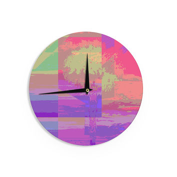 "Nina May ""Impermiate Poster"" Wall Clock"