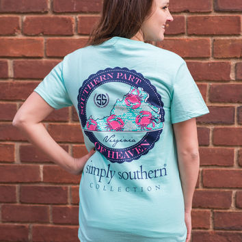 Simply Southern Virginia Crab Tee