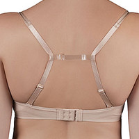 Fashion Forms See-Through Bra Strap Converter - Clear