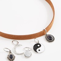Yin Yang Interchangeable Mood Stone Choker | Chokers | rue21