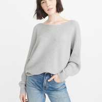 Womens Ribbed Dolman Sweater | Womens New Arrivals | Abercrombie.com