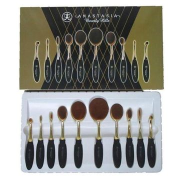 MDIGON1O Day First Brushes Tooth Shape Oval Makeup Set Multipurpose