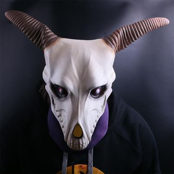 Anime The Ancient Magus' Bride Elias Ainsworth Cosplay Latex Mask Prop Halloween