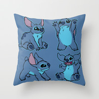 Stitch  Throw Pillow by Magen Works