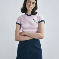 Lazy Oaf Dolphin Heart T-shirt - View all - New In - Womens