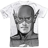 Justice League Of America/Bw Flash Head