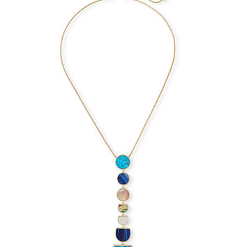 Kendra Scott Taniesja Linear Stone Drop Necklace