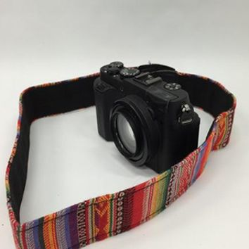 CABRBL Bright Blanket Camera Strap - LAST CALL
