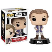 General Leia Star Wars Force Awakens Bobble-Head Pop Vinyl Figure