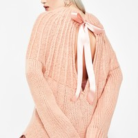 Dream Desire Tie Back Sweater