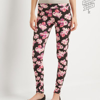 Aeropostale  Invite Only Floral Leggings