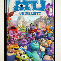 Monster University Student iPad 2 3 4, iPad Mini 1 2 3, iPad Air 1 2 , Galaxy Tab 1 2 3, Galaxy Note 8.0 Cases