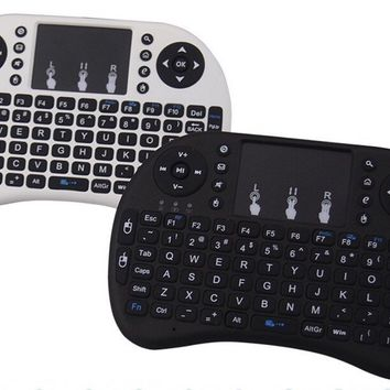 Remote Control Handheld Keyboard & Touchpad