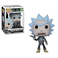 POP! Animation: Rick and Morty Prison Escape Rick